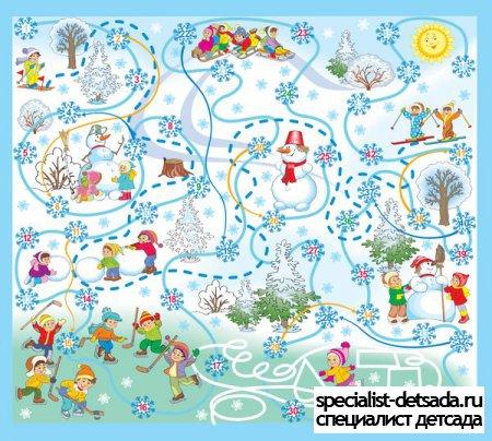 Игра для детей зимушка зима